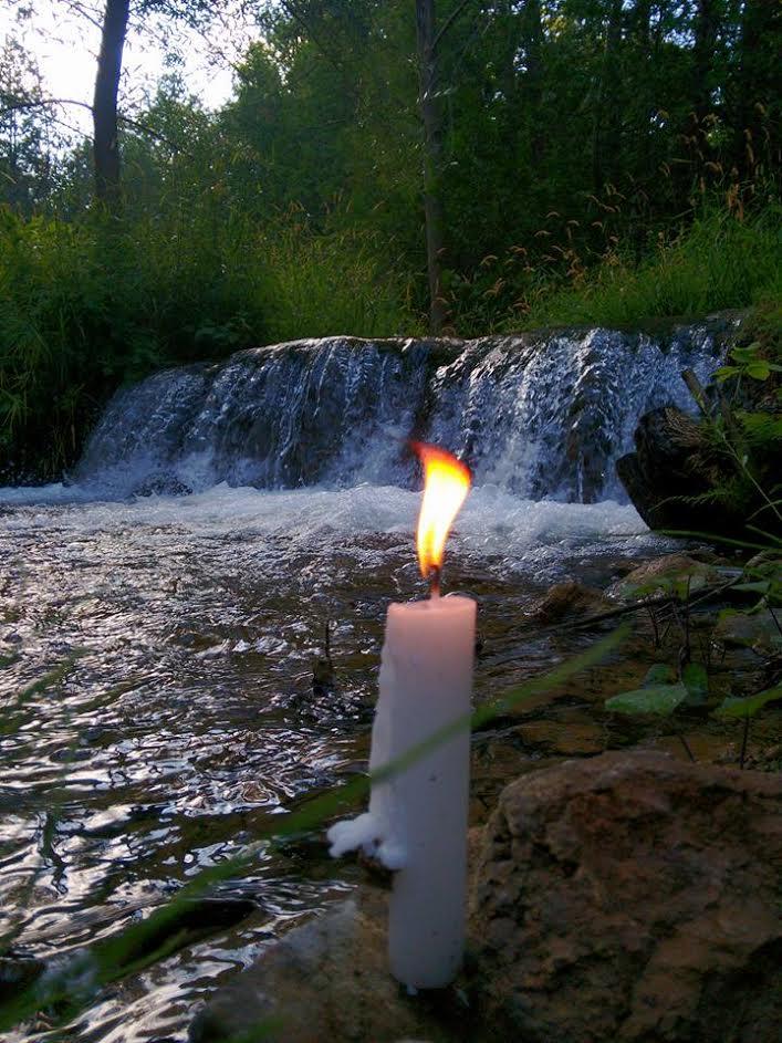 rivercandle